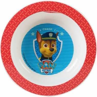 Diep bord paw patrol 16 cm
