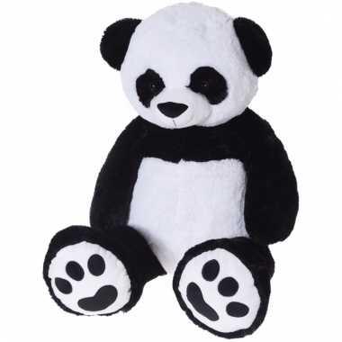 Dieren knuffels reuze pandabeer 100 cm