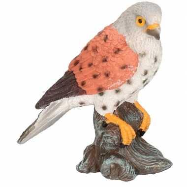 Dierenbeeld torenvalk vogel 11 cm woondecoratie