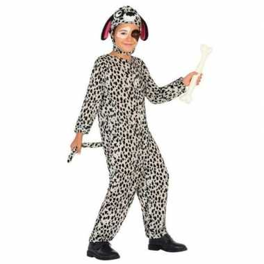 Dierenpak hond/honden verkleed kostuum dalmatier voor kinderen