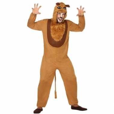 Dierenpak verkleed kostuum leeuw voor volwassenen