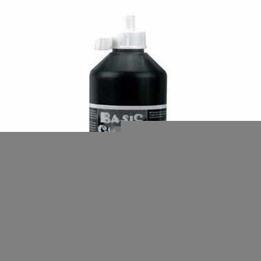 Dikke zwarte verf 500 ml