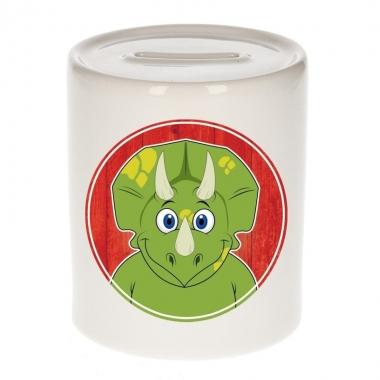 Dino / dinosaurier kado spaarpot voor kinderen 9 cm