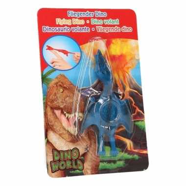 Dino world mini dino katapult pterosauri?rs blauw