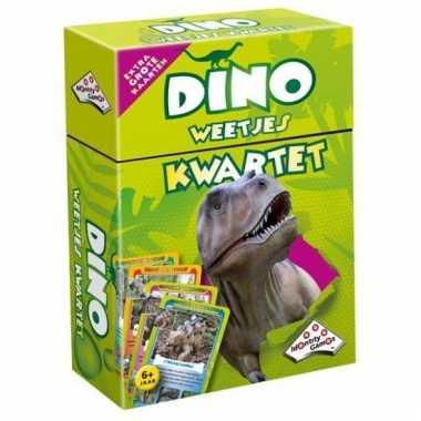 Dinosaurus kwartetten reuzekaarten