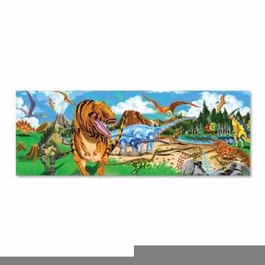 Dinosaurus land puzzel met 48 stukjes