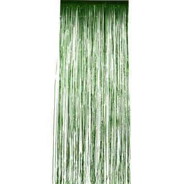 Disco folie deurgordijnen groen