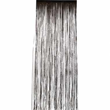 Disco folie deurgordijnen zwart