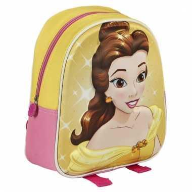 Disney belle 3d rugzak voor kinderen
