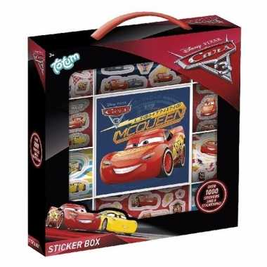 Disney cars stickers 1000 stuks