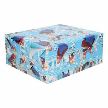 Disney inpakpapier frozen anna/elsa 200 x 70 cm op rol