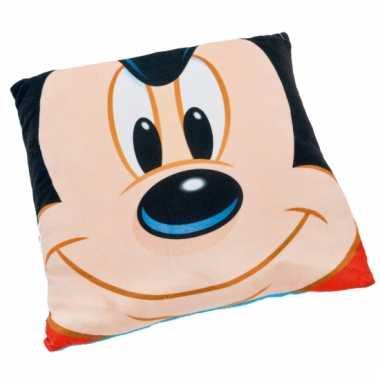 Disney mickey mouse kussen 36 cm