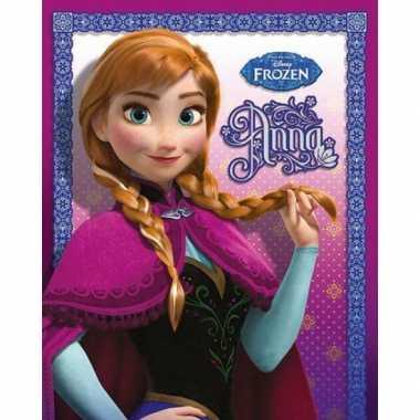 Disney poster frozen met afbeelding van anna