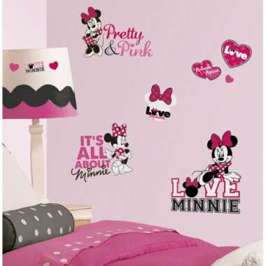 Disney wandstickers minnie mouse