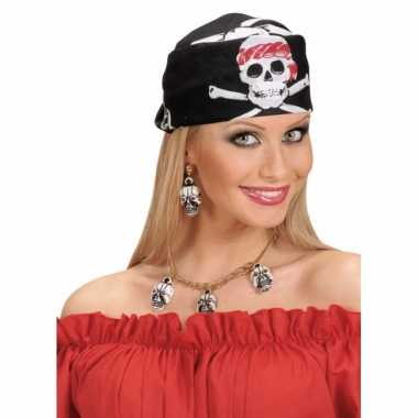 Doodskoppen bandana piraten