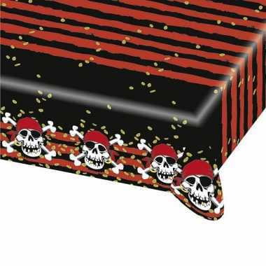 Doodskoppen piraten tafel kleden