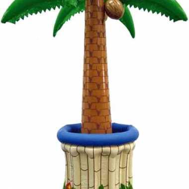 Drankkoeler opblaas palmboom