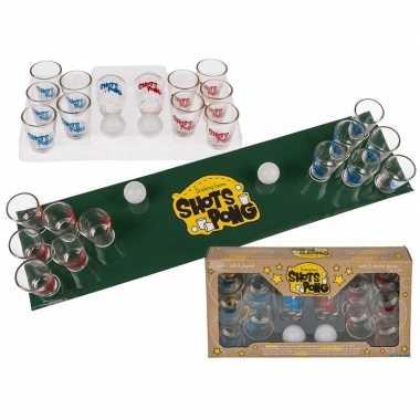 Drinkspel shotjes pong