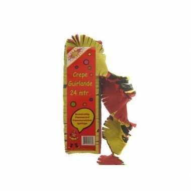 Duitsland/duitse versiering crepe slinger