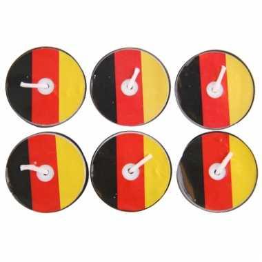 Duitsland theelichtjes 6 stuks