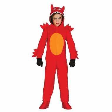 Duivel monster kostuum voor kinderen