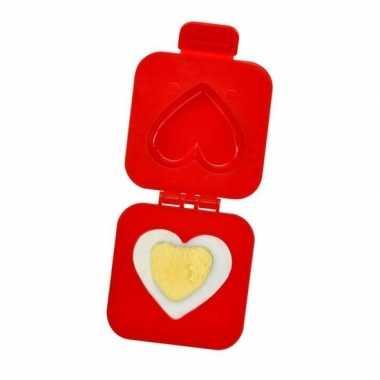 Ei vormer hartje 7 cm valentijn gadget