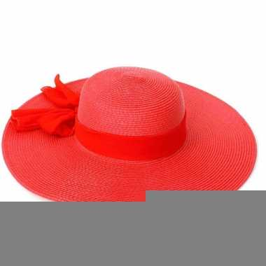 Elegante dames hoed met strik