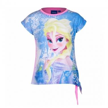 Elsa t-shirt roze voor meisjes