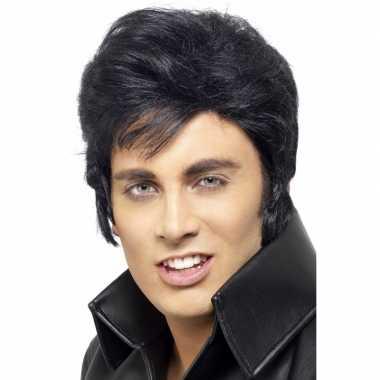 Elvis pruik voor volwassennen