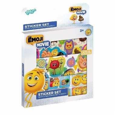 Emoji film stickers 30 stuks