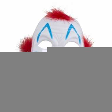 Enge clowns masker van plastic