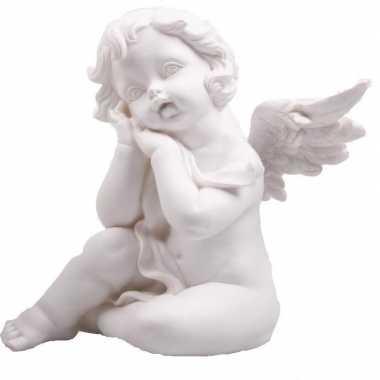 Engel beeldje slapend 22 cm