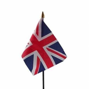 Engeland vlaggetje met stokje