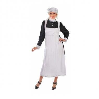 Engels dienstmeisje kostuum