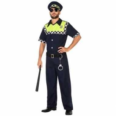 Engelse politie verkleed pak/kostuum voor volwassenen