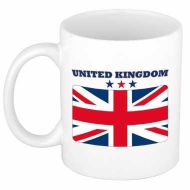 Engelse vlag theebeker 300 ml