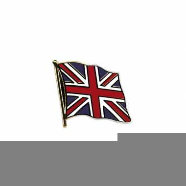 Engelse vlaggetjes pin