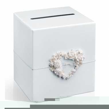 Enveloppen doos huwelijk met hart