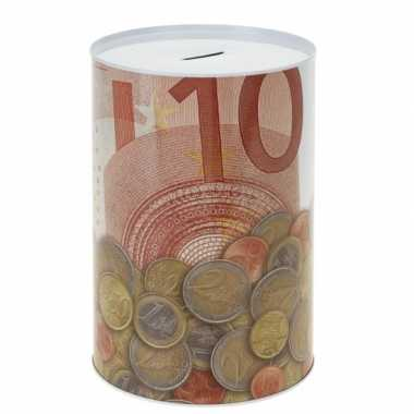 Eurobiljet spaarpot 10 euro briefje