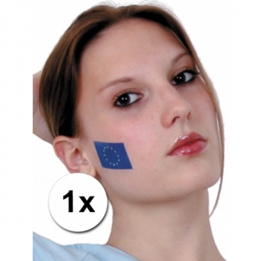Europa vlag tattoeage trend