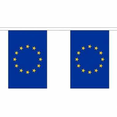 Europa vlaggenlijn van stof 3 m trend