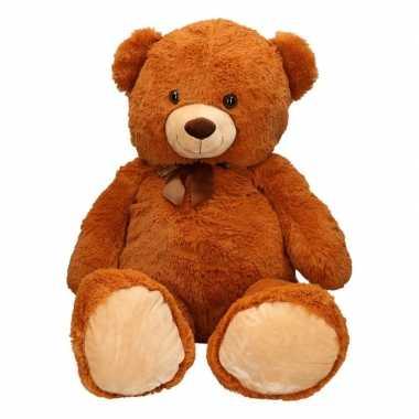 Extra grote knuffelbeer bruin 10 cm