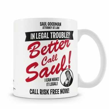 Fan koffiemok breaking bad saul goodman