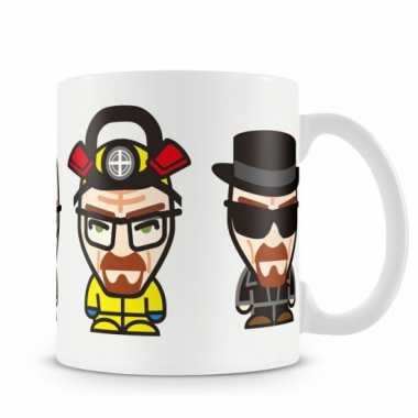 Fan koffiemok breaking bad walter white minions