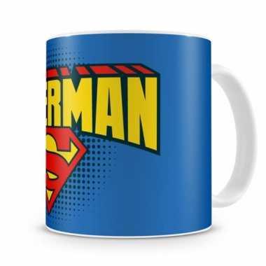 Fan koffiemok superman schild