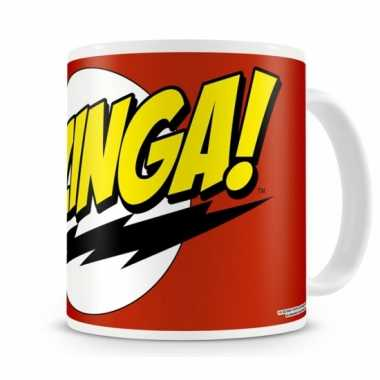 Fan koffiemok the big bang theory bazinga
