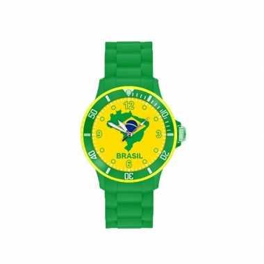 Fans horloge brazilie voor heren