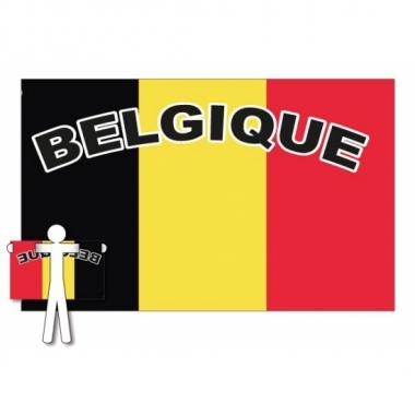 Fans vlag belgie