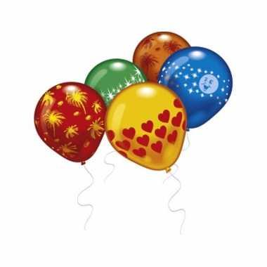 Feest ballonnen met verschillende prints