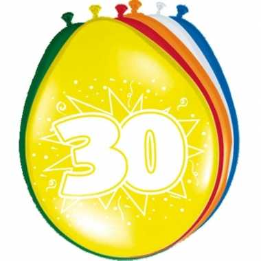 Feest ballonnen van 30 jaar